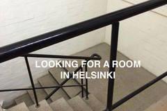 Tarvitaan: Looking for sublet room