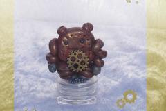 Vente au détail: Petite Boite décorative Robot Doré Kawaii