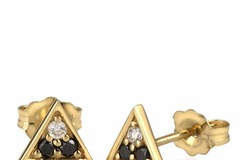 Selling: Triangle Studs