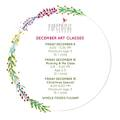 Offering a Service : Christmas Art Classes