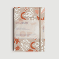 Products: Milligram – 2018 Agenda Weekly Diary A5 – Beige Pattern