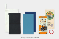 Products: Traveler's Notebook – 2018 Weekly & Memo Pack – Regular Size