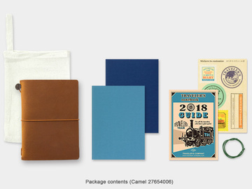 Products: Traveler's Notebook – 2018 Weekly Pack – Passport Size