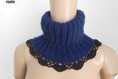 Vente au détail: écharpe laine/COL SNOOD ,snood laine/.fait a main/crochet ve