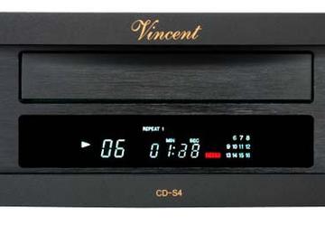 Vente: Lecteur CD/HDCD VINCENT CD-S4 NOIR