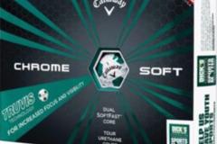 Selling: Callaway Chrome Soft Green Truvis Golf Balls - Sports Matter
