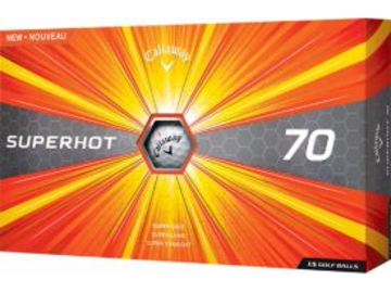 Selling: Callaway Superhot 70 Golf Balls – 15-Pack