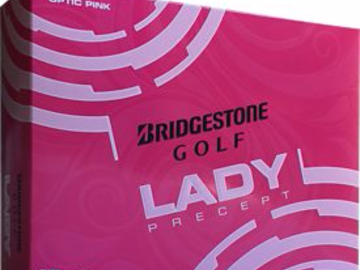 Selling: Bridgestone Lady Precept Optic Pink Golf Balls