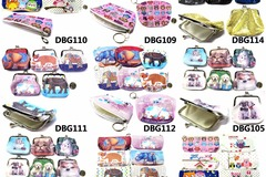 Sell: COIN PURSES AND MAKEUP BAGS SALE, 300 PCS NEW OVERSTOCK