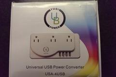 Myydään: Universal USB power converter