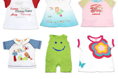 Sell: (72) Children Clothing Assorted Boy Girl Baby T-Shirts