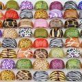 Sell: 500pcs Women Leopard Fashion Pattern Plastic Fashion Rings