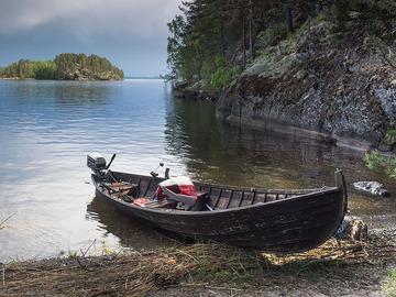 Vuokrataan (viikko): Vanerinen soutuvene Inarissa