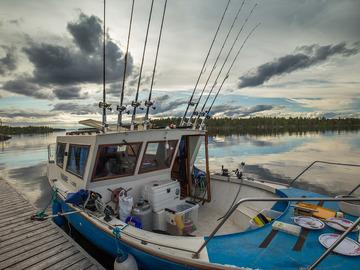 Tarjotaan: Kuljetusta Inarinjärvellä