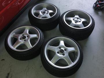Selling: 16x7.5 & 16x9 | 4x100 | Borbet Type E wheels for sale