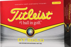 Selling: Titleist DT Solo Yellow Golf Balls