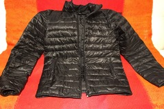 Selling: Black padded jacket S size