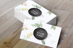 Offre: Création de vos logos et supports imprimés - Culinaire
