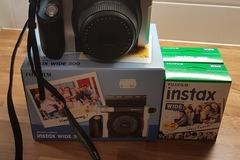 Ilmoitus: Polaroid-kamera, filmit ja valokuvakulmat