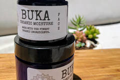 Selling: Buka Seriously Moisturizing Organic Face Cream- 2 OZ