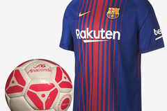 Sell: 2017/18 Brand Named Jerseys & Soccer Balls, All Brand New