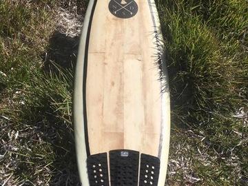 Daily Rate: Balsa Deck surfboard 6'0