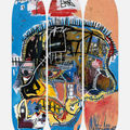 Selling: Jean Michael Basquiat Skateboard Art Decks