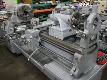 Hourly Equipment Rental: Ajax AJL 370 x 1500mm Lathe