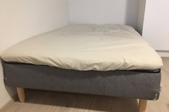 Myydään: For sale: 120x200 bed