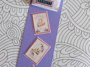Vente au détail: Marque-pages 'Lady Amantaire'