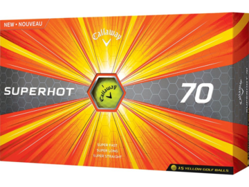 Selling: Callaway Superhot 70 Yellow Golf Balls – 15 Pack