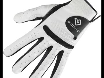 Selling: Bionic Men's RelaxGrip Black Palm Golf Glove - Left