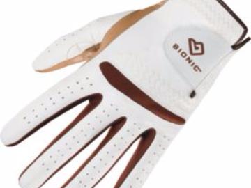 Selling: Bionic Women's RelaxGrip Caramel Palm Golf Glove - Right