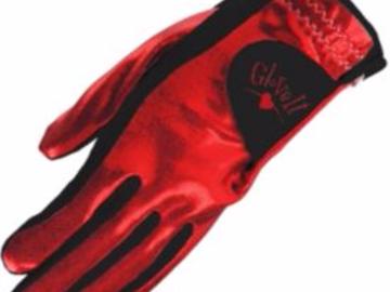 Selling: Glove It Women's Clear Dot Golf Glove – Red/Black - Left