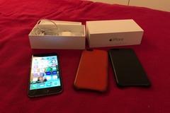 Myydään: iPhone 6 64Gb Space Gray + 2 suojakuoret