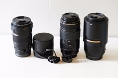 Selling: Canon 70-300 IS, Tamron 28-75/2.8, 70-300 SP USD, Takumar 24