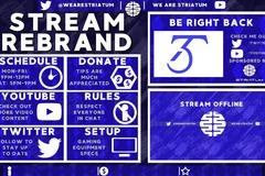 Graphics Packs: Twitch Stream Rebrand