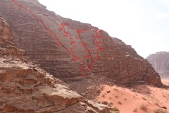 Climbing partner : Wadi Rum weekend