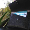 Vente au détail: Porte carte femme en cuir-