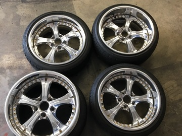 Selling: 17x8.25 & 17x9.5 | 5x114.3 | SSR Vienna Courage