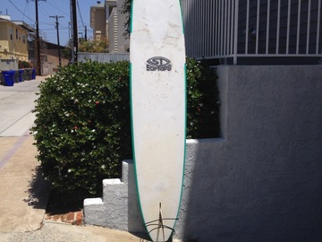 """For Rent: 9'6"""" surf tech soft-top longboard"""