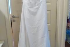 Ilmoitus: Hääpuku+kuitukankainen pitkä pukupussi