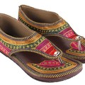 Sell: Women's Embroidery Ethnic Sandals -- 9 pairs