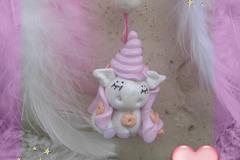 Vente au détail: Mini Attrape-rêves féerique figurine licorne