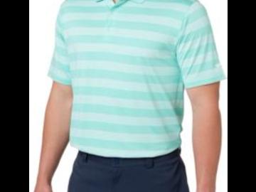 Selling: Slazenger Men's Tech Stripe Golf Polo