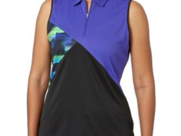 Selling: Slazenger Women's City Lights  Colorblock Sleeveless Polo