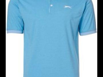 Selling: Slazenger Men's Contender Cuffed Colorblock Golf Polo
