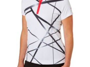 Selling: Slazenger Women's Structure Collection Printed Golf Polo