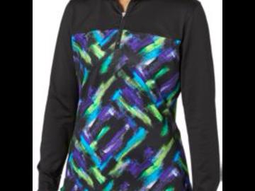 Selling: Slazenger Women's City Lights Printed Quarter Zip Jacket