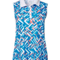 Selling: Slazenger Women's Luminescent Fracture Sleeveless Golf Polo